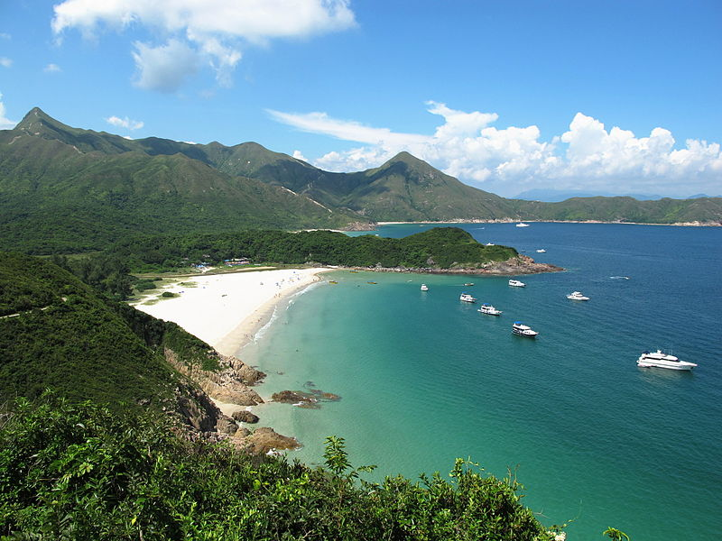 Tai Long Sai Wan - Best Campsite / 3rd Best Beach in Hong Kong