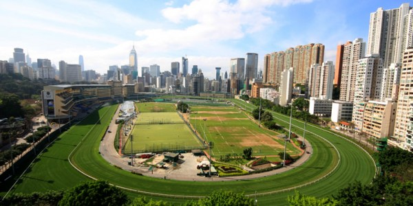 Happy Valley Racecourse Running Route